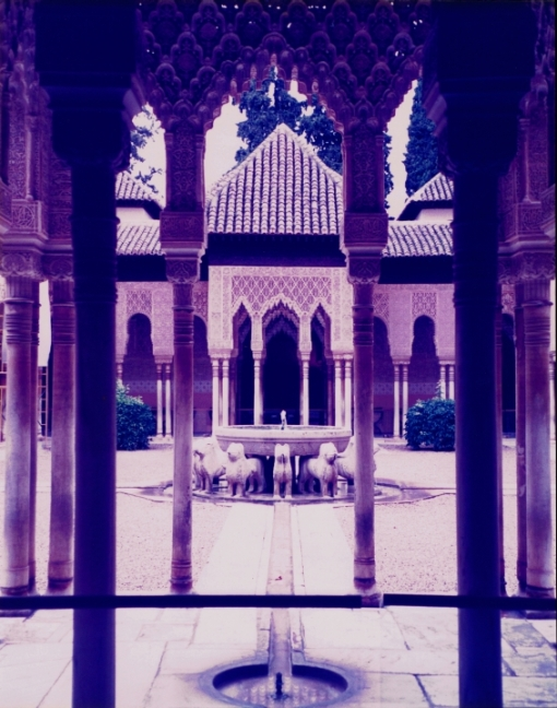Courtyard of the Lions, The Alhambra.