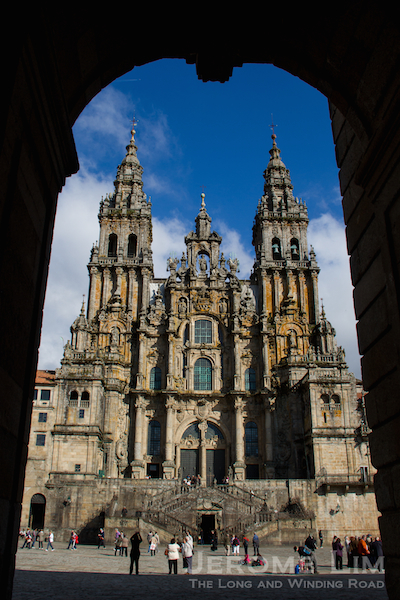The Cathedral of Santiago de Compostela, Oct 2011.