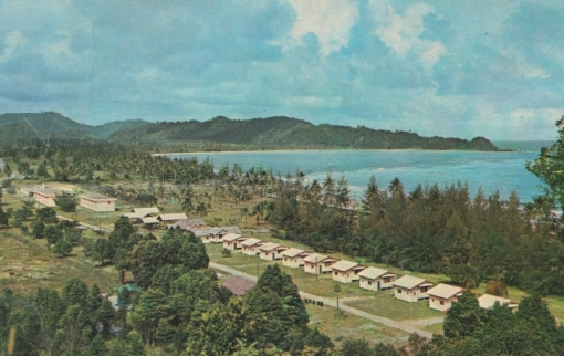 A postcard of Motel Kemaman