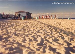 Beach at Belmar, NJ, 1989