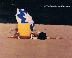 Beach at Belmar, NJ, 1989