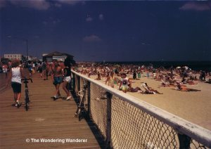 Boardwalk at Belmar, NJ, 1989