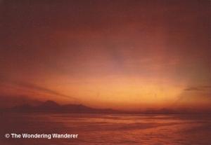 Sunrise over Corinto, 1985