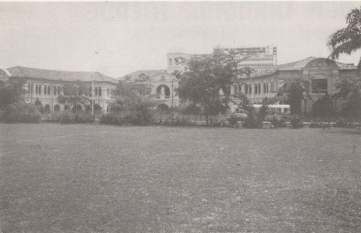 Saint Joseph's Institution on Bras Basah Road in the 1970s