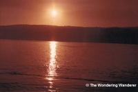 Sunrise over Valparaíso
