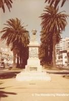 Avenida de Brasil - Bust of José Manuel Balmaceda