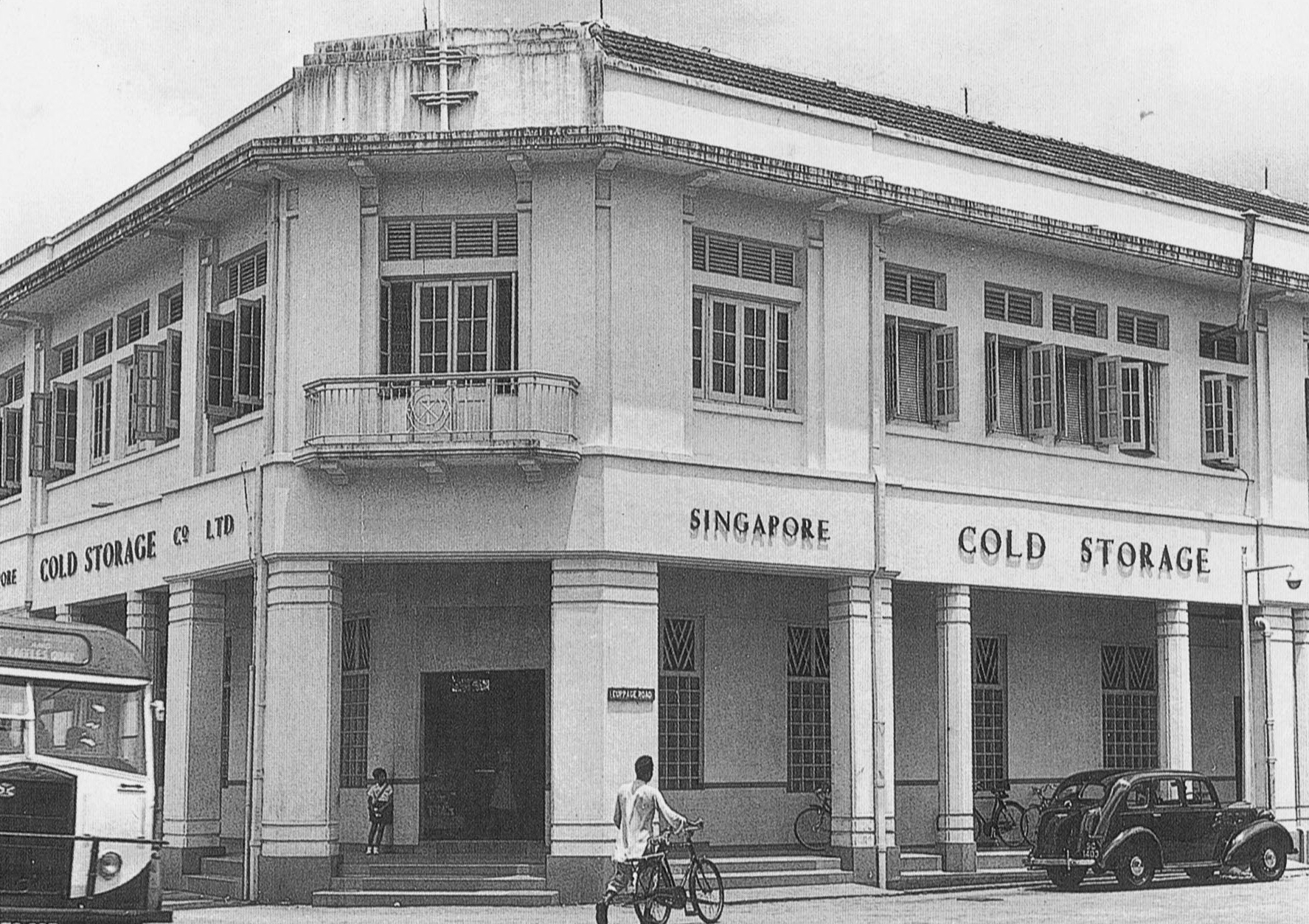 The old cold storage building along orchard road the - Singapore post office tracking number ...