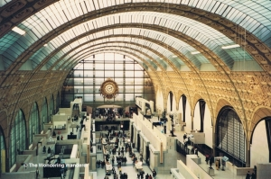 The inside of the Musée d'Orsay