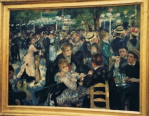 The Painting as displayed in the Musée d'Orsay