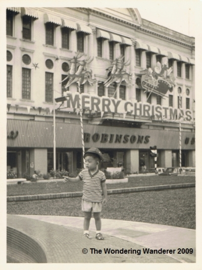 Christmas Decorations from a Simpler Time - Robinson's at Raffles Place, 1966