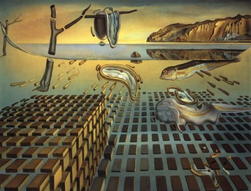 The Disintegration of Persistence of Memory (1952 - 1954), Salvador Dalí Museum, St. Petersburg, Florida. (Source: Wikipedia)