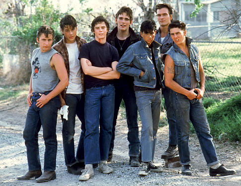 The Outsiders featured Patrick Swayze as Darrel, a father figure to a group of boys who grew up on the outside of society.