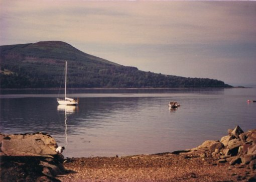 The Isle of Arran in 1989