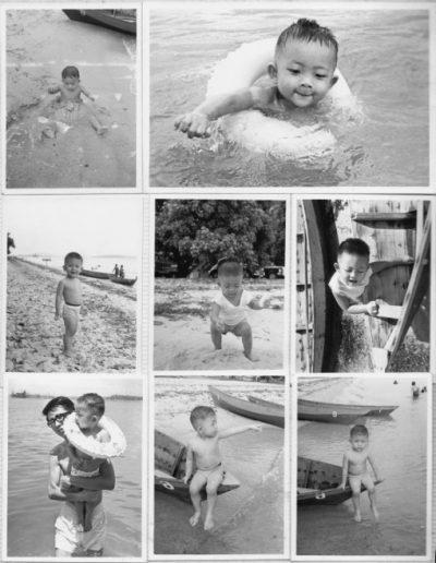 Changi Beach, 1965