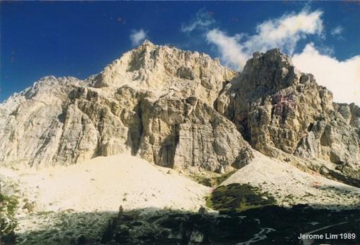 Monte Lagazuoi near Corvara in Alta Badia