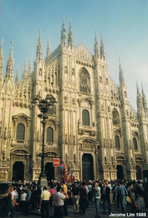 Il Duomo, Milan, Summer 1989