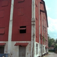 That old rusty red coloured building along Sembawang Road