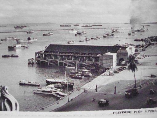 Сингапур.Clifford pier.