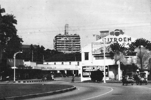 Katong Shopping Centre Car Park Entrance