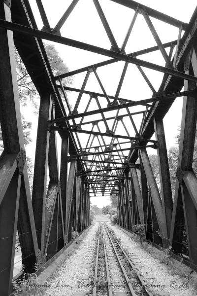 A bridge that's now too far.