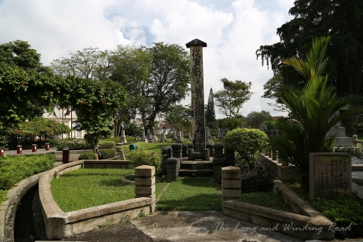 Another view around the cemetery.