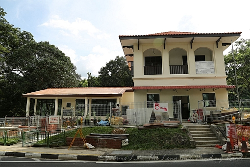 The building that housed the former Nee Soon Post Office is being given a new lease of life.