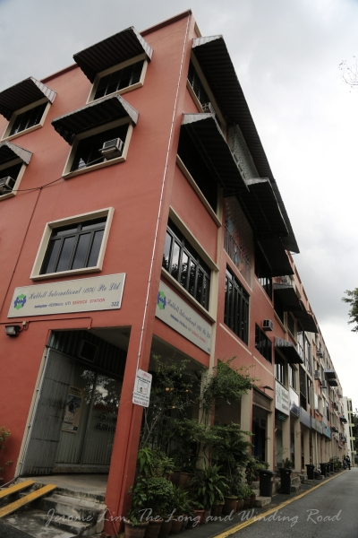 The block where Java Indah and the best lemper udang was once found.