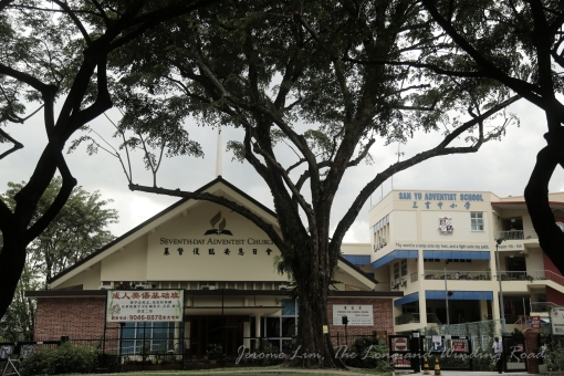 The Seventh Day Adventist Chinese Church and San Yu Adventist School.