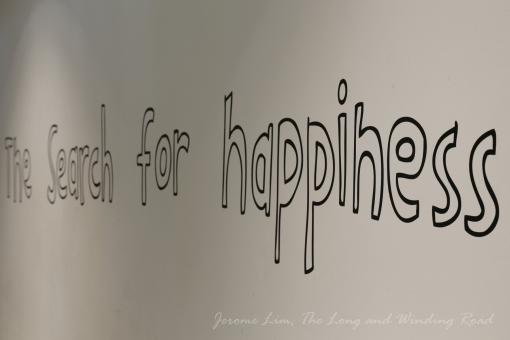 The search for happiness ...