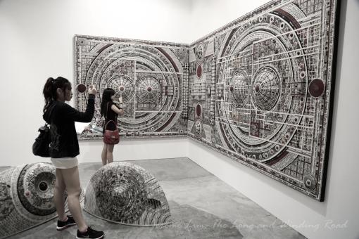Rukunegara 2 by Malaysian artist Zulkifli Yusoff.