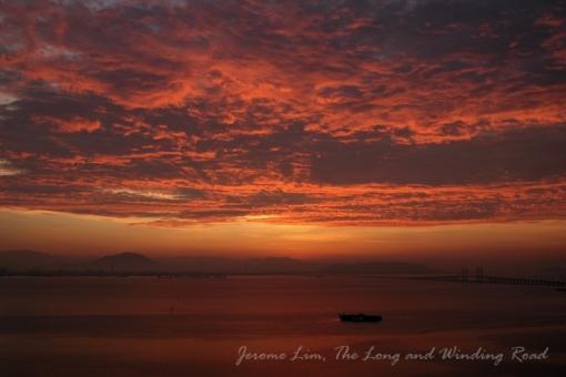 A sunrise 5 years ago.
