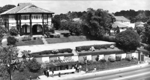 The mansion along Thomson Road in which Dr W C Cheng moved his obstetrics and gynaecology practice to from the 2nd floor of the old Cold Storage.