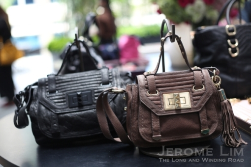 Leather Handbags.