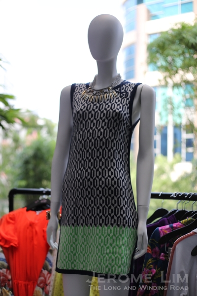 Aquarius Geo Dress from the Spring collection.