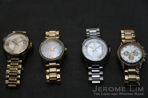 Watches from the Stella range.