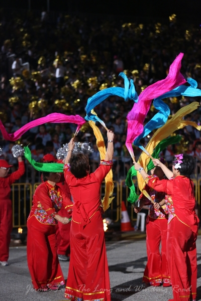 The colourful celebration that is today's Chingay.