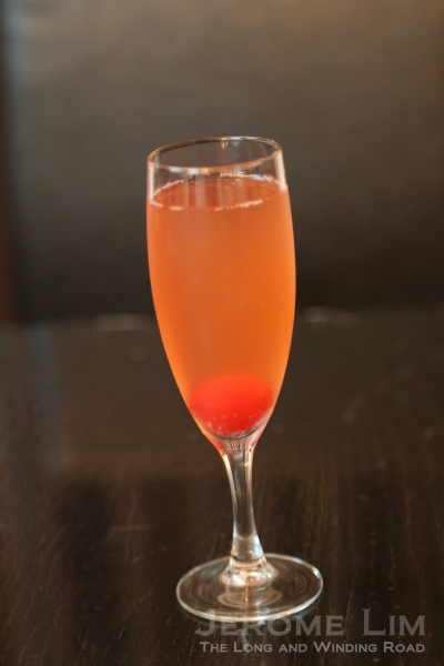 The very refreshing Signature Mellini Mocktail.