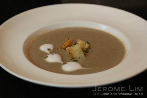 Cuppa' Mushroom Soup.