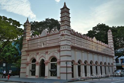 The former Nagore Durgha Shrine.