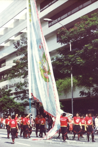 The early parades in its more recent form would typically feature traditional performers such as flag bearers.