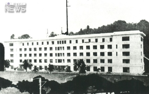 The Lower Barracks around the time of it opening in 1934 (source: http://www.hometeam.sg/cmsmedia/).
