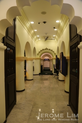 Inside the Nagore Durgha.