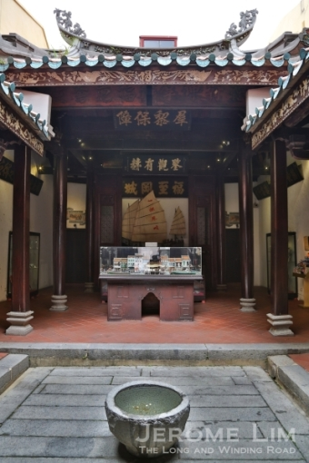 Inside the Fuk Tak Chi Museum.