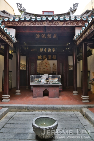 Inside the Fuk Tak Chi Museum.