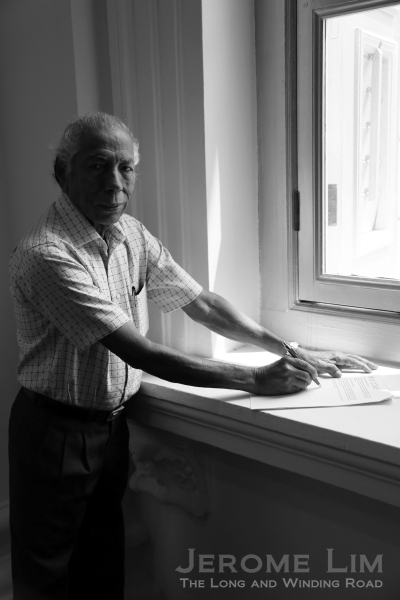 Letter writer Mr Thangaraju s/o Singaram, who is 85 years old and was from Tamil Nadu, India.