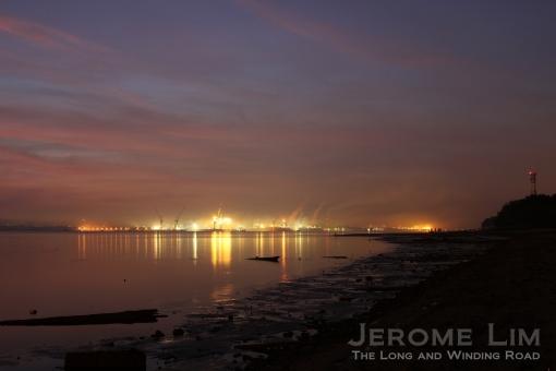 First light, 6.35 am 30 March 2013.
