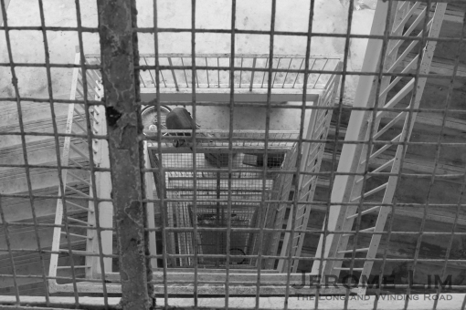 Another look through the stairwell.