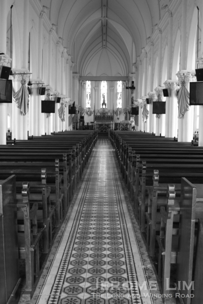 The nave of the church.