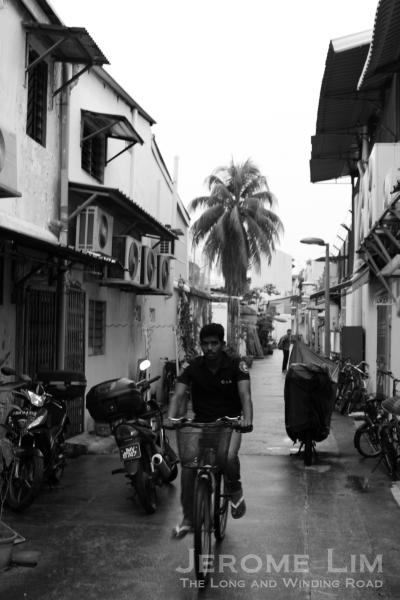 Back lanes would once have been the centre of life off the streets.