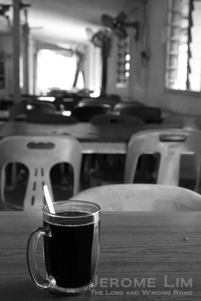 Having a cup of kopi-o at the Blk 398 Canteen takes one back in time.
